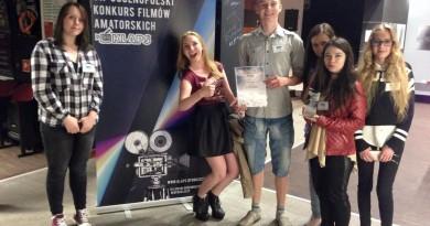 II miejsce w VII Ogółnopolskim Konkursie Filmów Amatorskich KLAPS